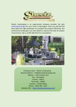 Best Landscape Design and Designers in Barrington