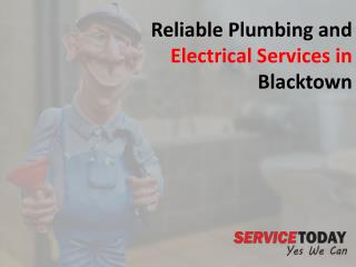 Reliable Plumbing and Electrical Services in Blacktown