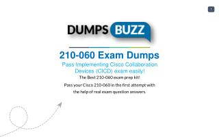 Mind Blowing REAL Cisco 210-060 VCE test questions