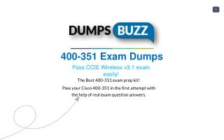 Some Details Regarding 400-351 Test Dumps VCE That Will Make You Feel Better