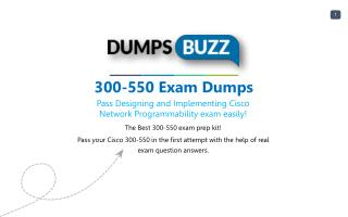 Valid 300-550 Test Dumps