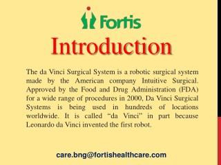 Successful Da Vinci Robotic Surgery in India
