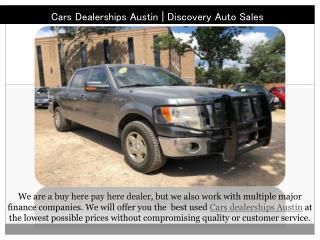 Car Dealerships Austin TX