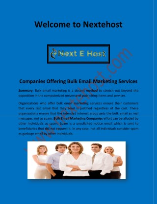 Bulk email marketing companies, best professional email provider