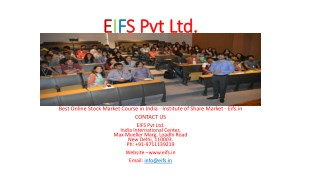 Online Stock Market Training Institute - Eifs.in