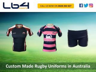 Custom Made Rugby Uniforms in Australia