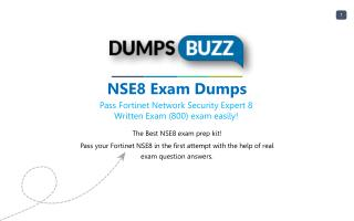 Some Details Regarding NSE8 Test Dumps VCE That Will Make You Feel Better