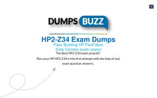 The best way to Pass HP2-Z34 Exam with VCE new questions