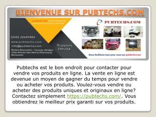 Support service client - Pubtechs