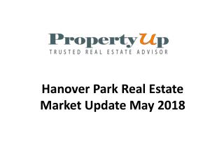 Hanover Park Real Estate Market Update May 2018