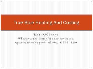 Tulsa HVAC Company
