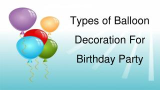 Buy Party Balloons Online in Telangana