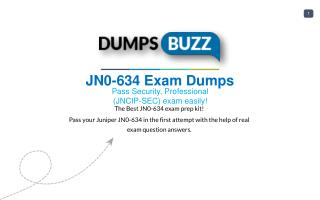 The best way to Pass JN0-634 Exam with VCE new questions