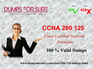 The latest Cisco 200-125 exam study guide and free dumps