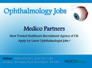 Ophthalmology Jobs