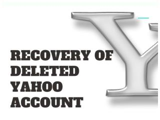 How To Recover Deleted Yahoo Account - Updated | You Must See!!!
