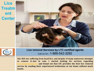 Lice Removal near me by Certified Lice treatment center Technicians