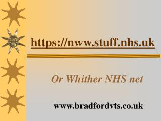 https://nww.stuff.nhs.uk