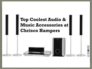 Top Coolest Audio and Music Accessories