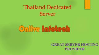 The Secret of Thailand Dedicated Server Hosting