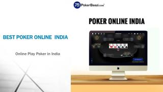 Best Poker Online India