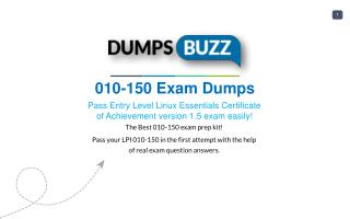 New 010-150 VCE exam questions with Free Updates