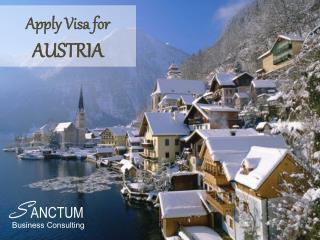 Austria Tourist Visa   Requirements   Places to visit - Sanctum Consulting