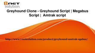Megabus Script   Amtrak script