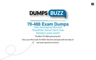 Microsoft 70-488 Test vce questions For Beginners and Everyone Else