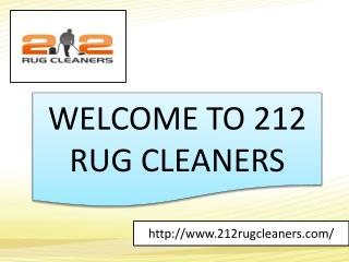212 rug cleaners services nyc