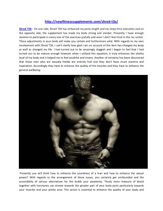 http://newfitnesssupplements.com/shred-t3x/