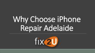 Why Choose iPhone Repair Adelaide