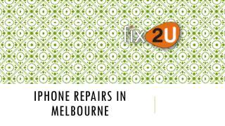 IPhone Repairs In Melbourne