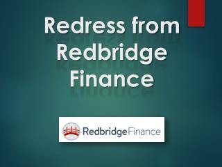 Redress from Redbridge Finance