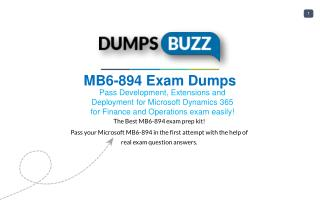 MB6-894 Exam .pdf VCE Practice Test - Get Promptly