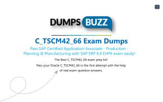 SAP C_TSCM42_66 Dumps Download C_TSCM42_66 practice exam questions for Successfully Studying