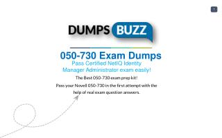 Valid 050-730 Exam VCE PDF New Questions