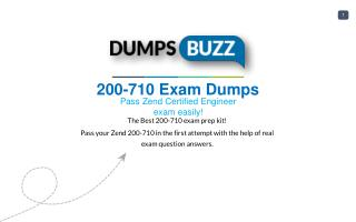 Improve Your 200-710 Test Score with 200-710 VCE test questions