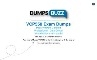 Some Details Regarding VCP550 Test Dumps VCE That Will Make You Feel Better