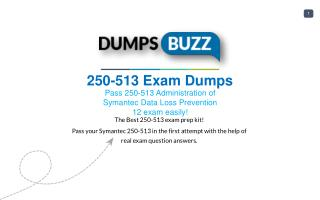 Purchase REAL 250-513 Test VCE Exam Dumps
