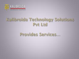 Kalibroida Technology Solution Services