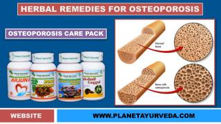 Osteoporosis ( Low bone density ) and Natural Treatment