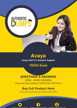 7693X Dumps PDF - 100% Passing Guarantee on 7693X Exam