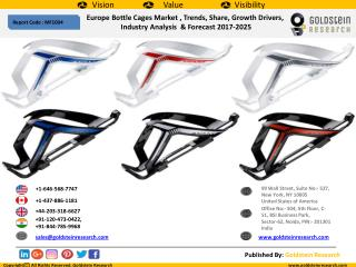 Europe Bottle Cages Market, Trends, Share, Growth Drivers, Industry Analysis  & Forecast 2017-2025