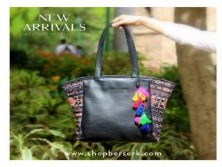 Ladies Shoulder Bags - Floral Handbags