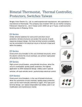 Temperature Sensor Taiwan