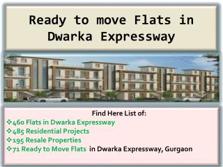 Buy Ready to Move Flats in Dwarka Expressway