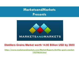 Distillers Grains Market worth 14.95 Billion USD by 2023