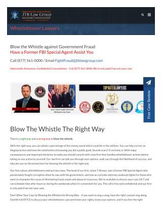 Whistleblower lawyers