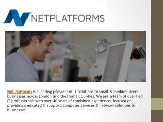 IT Consultancies in London - Net Platforms